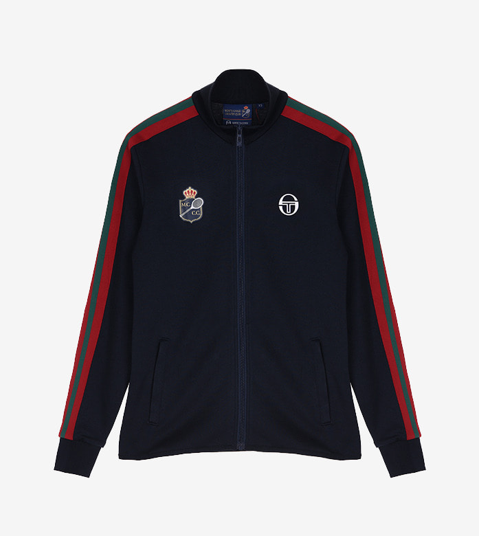 FREESIA TRACKTOP [NAVY/APPLE RED]