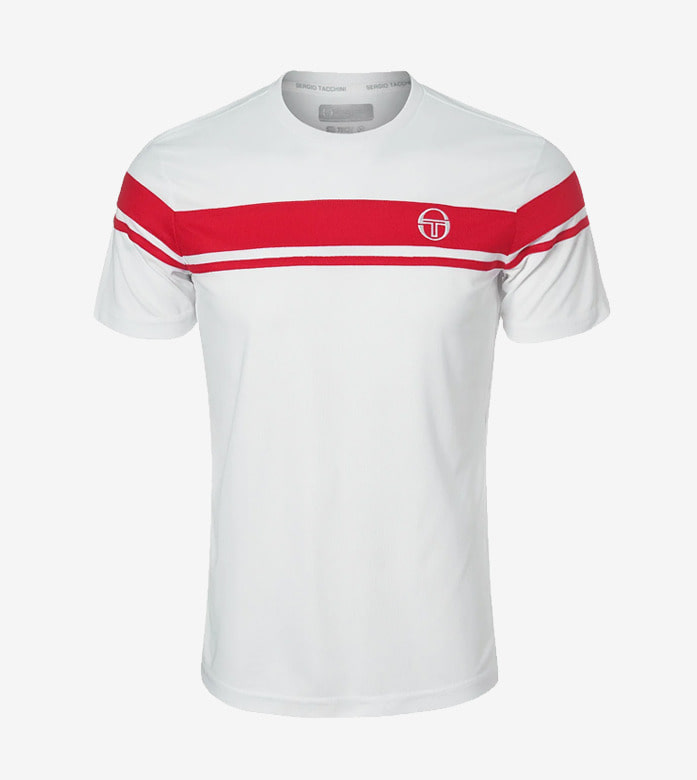 YOUNG LINE PRO T-SHIRT [RED/WHITE]