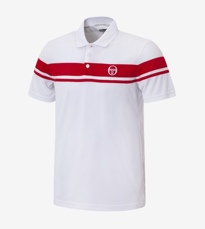 YOUNG LINE PRO POLO [RED/WHITE]