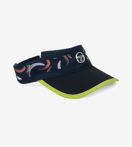 ABSTRACT VISOR [NAVY/LIME ADE]