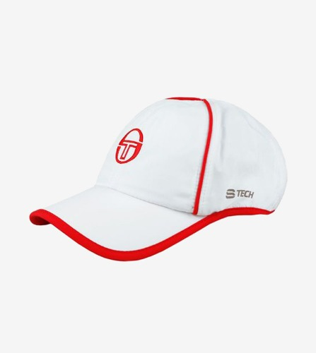 CLUB TECH CAP [WHITE/RED]