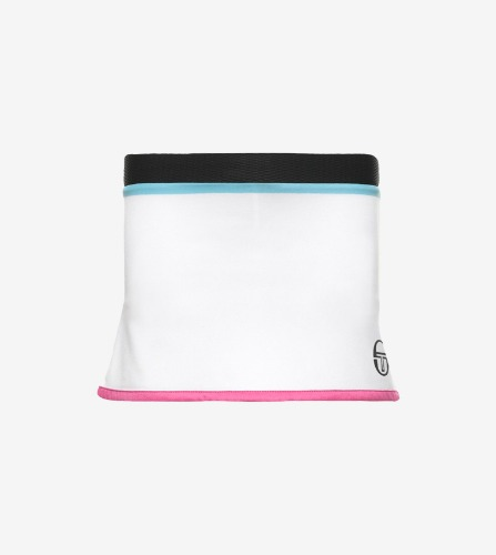 TAPED JRF SKORT [WHITE/BLACK]