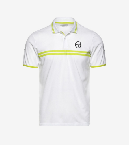SPOKES POLO [WHITE/LIME]