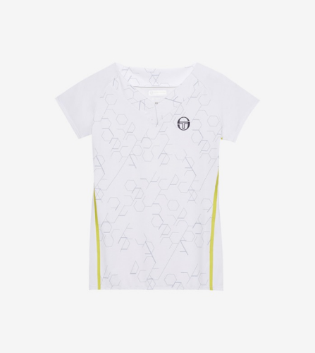 PERSPECTIVE T-SHIRT [WHITE/LIMEADE]