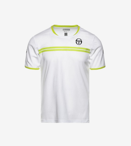 SPOKES T-SHIRT [WHITE/LIME]
