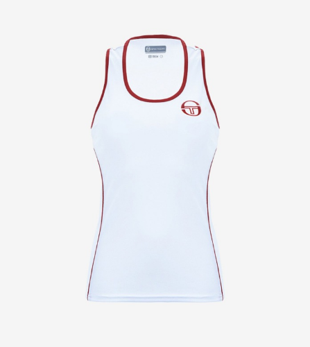 PHOENIX TANK TOP [WHITE/RED]