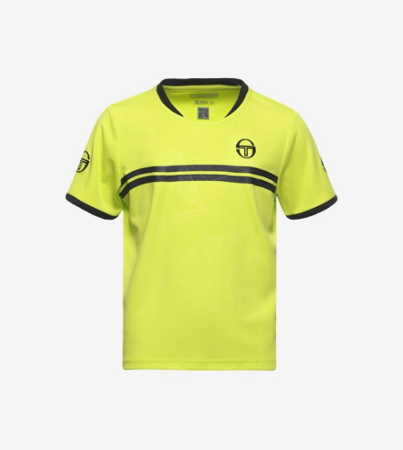 SPOKES T-SHIRT [LIME/BLACK]