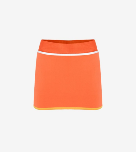 TAPED SKORT [LIGHT ORANGE]