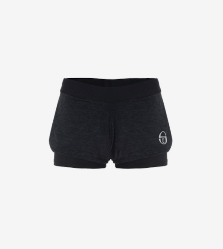 ELLA SHORTS [BLACK/WHITE]