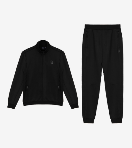 DIJJON TRACK TOP + DONET PANTS [BLACK]