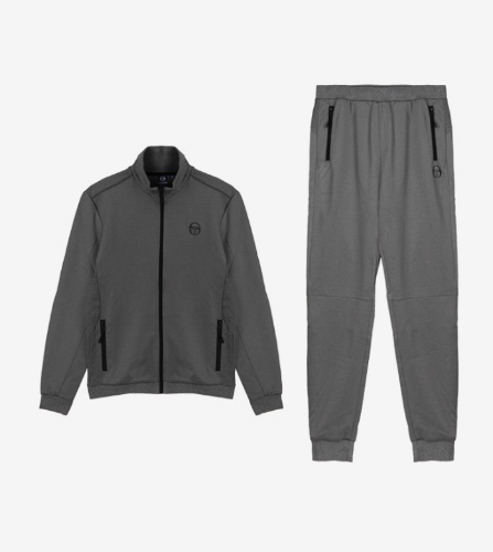 DIJJON TRACK TOP + DONET PANTS [DARK GREY MELANGE]
