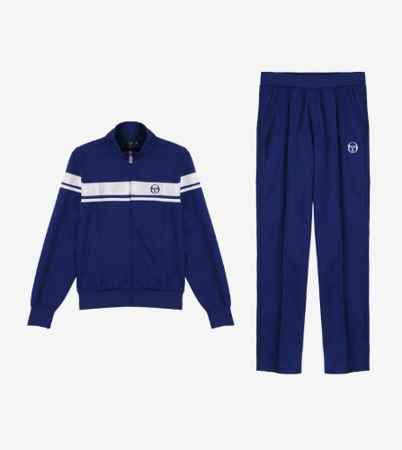 YOUNG LINE TRACK TOP + PANTS [VINTAGE BLUE]