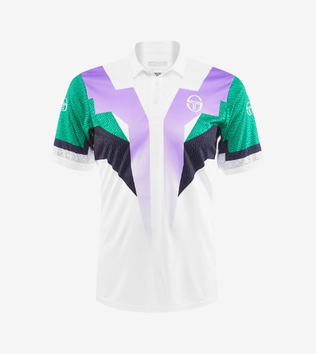 HAWK POLO [WHITE/GREEN]