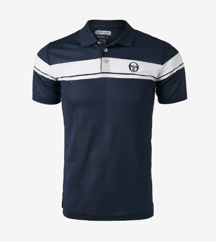 YOUNG LINE PRO POLO [NAVY/WHITE]