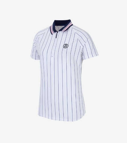 PARIS POLO [BLANC DE BLANC/ BLUE DEPTHS]
